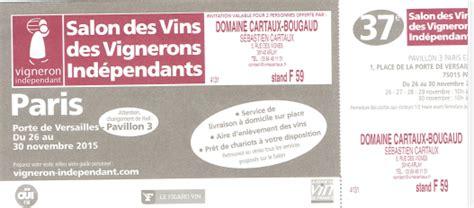 salon des vins des vignerons ind 233 pendants domaine