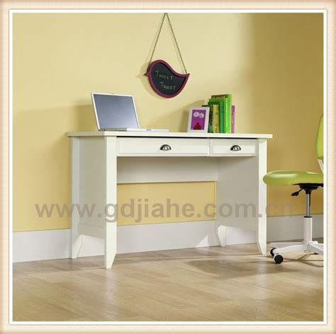 2014 white mdf computer desks with drawer mdf study table