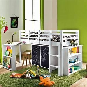 Lit Enfant 4 Ans : 20 mezzanines pour agrandir l 39 espace c t maison ~ Teatrodelosmanantiales.com Idées de Décoration
