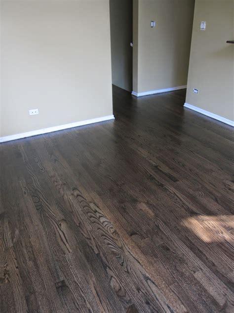 the oak flooring company ebony stained oak floors thefloors co