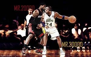 Kobe Bryant And Lebron James Wallpaper | www.pixshark.com ...