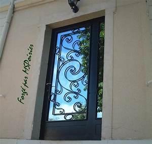 porte d39entree en fer forge modele charles viii With porte d entrée en fer
