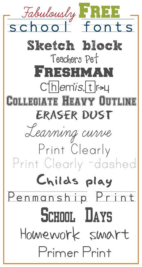 lettering fonts free fabulously free school fonts 92962