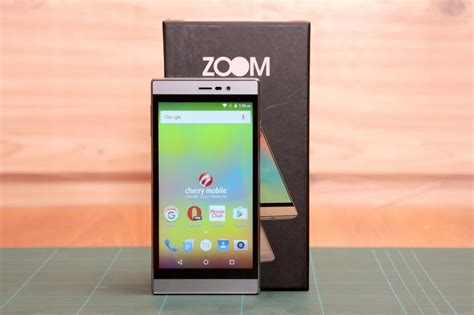 cherry mobile zoom unboxing   impressions