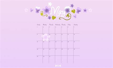 printable calendar papier bonbon