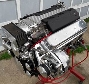 Sold    1993 Corvette 5 7l Lt1 Engine W   Billet Alum - 39k - Ls1tech