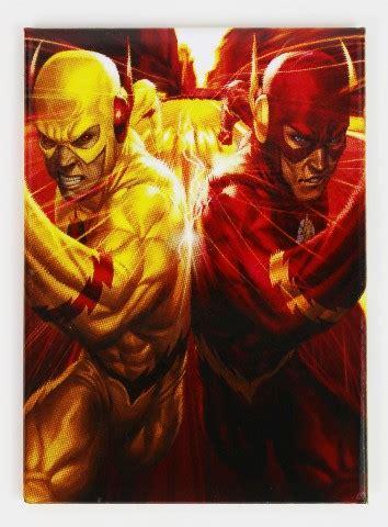 flash flashpoint fridge magnet reverse flash dc comics