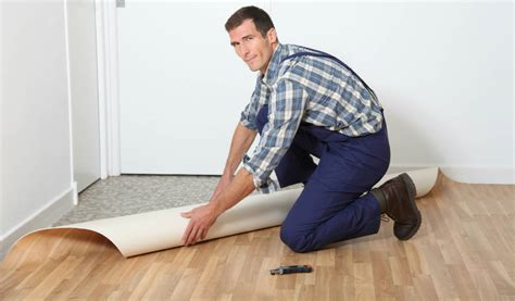 comment poser un lino sur du carrelage agrandissement cuisine sur terrasse 14 comment poser du vinyle ou lino au sol evtod