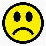 Sad Face Smiley Icon Emoticon Emotion Expression