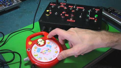 Circuit Bent Wanwan Tan Drum Toy Freeform Delusion