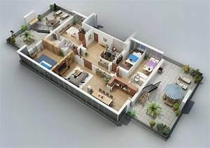 50, Four, U201c4, U201d, Bedroom, Apartment, House, Plans