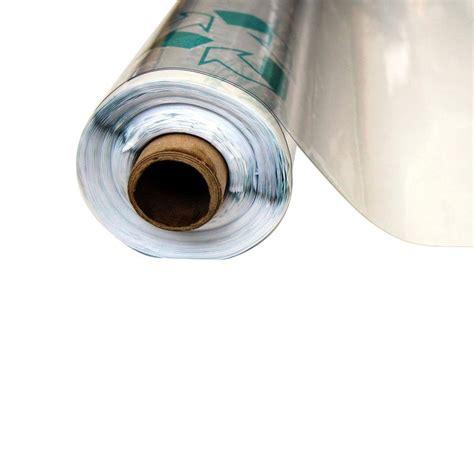 Vinylit 412 Ft X 75 Ft Clear 12 Mil Plastic Sheeting