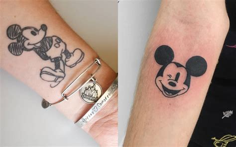tatuagens  mickey  da disney  se inspirar acho