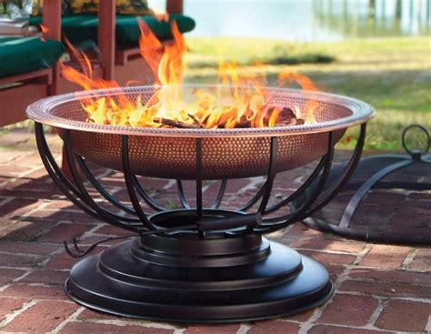A Solid Hammered Copper Fire Pit That Converts To A Table Magnetic Strip For Refrigerator Door Walls 5 Panel Exterior Modern Garage Doors Sale Kick Proof Impact Vintage Knockers Knobs