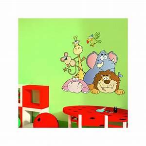 Stickers Animaux De La Jungle : sticker animaux de la jungle 2 ~ Mglfilm.com Idées de Décoration