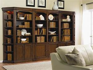Hooker Furniture Cherry Creek Traditional Bookcase Modular ...