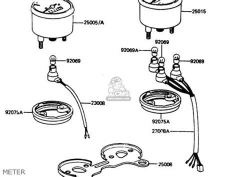 Fram G7 Fuel Filter by Kawasaki Kh100g7 1986 Usa Parts Lists And Schematics
