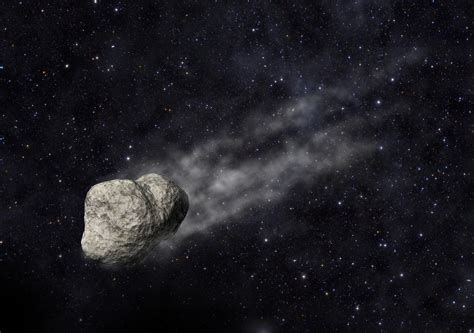 scientists discover asteroid  comet  tail