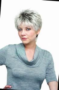 Coupe Courte Femme Cheveux Gris : coiffure courte cheveux gris femme ~ Melissatoandfro.com Idées de Décoration