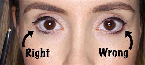 easy eyeliner trick    eyes  bigger eye liner tricks simple eyeliner