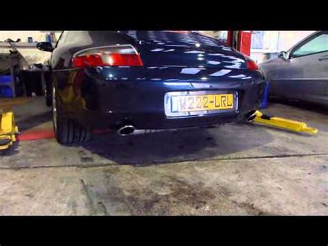 porsche before and after porsche 911 996 before and after kline exhaust youtube
