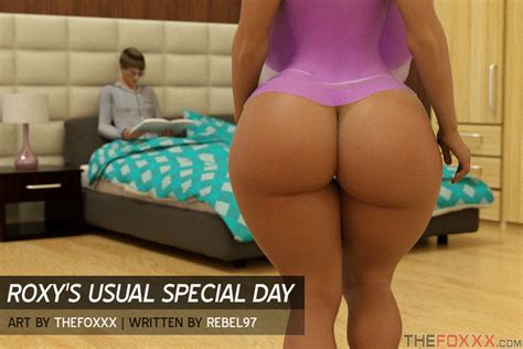 Roxy's Usual Special Day - Foxxx » 8muses