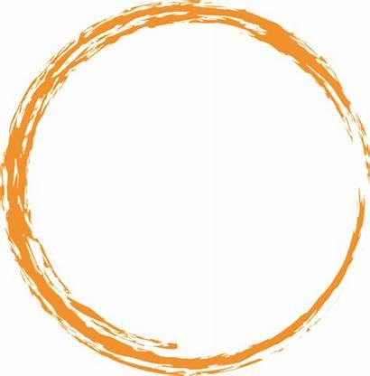 Orange Circle Round Paint Brush Pixabay