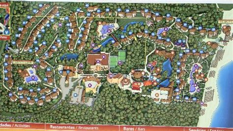 plan du resort picture  sandos caracol eco resort