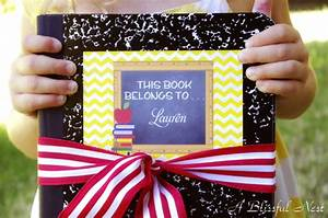 Back To School Collection Personalize It A Blissful Nest