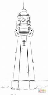 Lighthouse Drawing Draw Step Leuchtturm Coloring Disegno Ausmalbilder Sketch Faro Colorare Pencil Tutorials Zeichnen Disegni Template Zum Drawings Farol Supercoloring sketch template