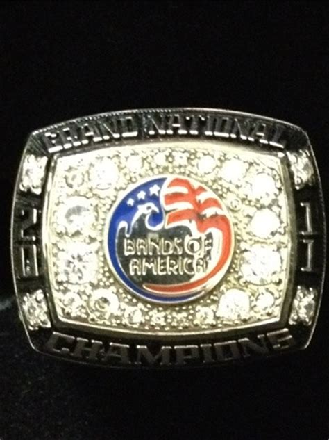 national championship ring broken arrow bands