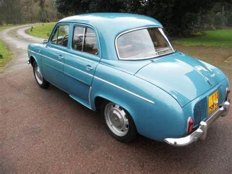 renault dauphine convertible historics at brooklands specialist classic and sports