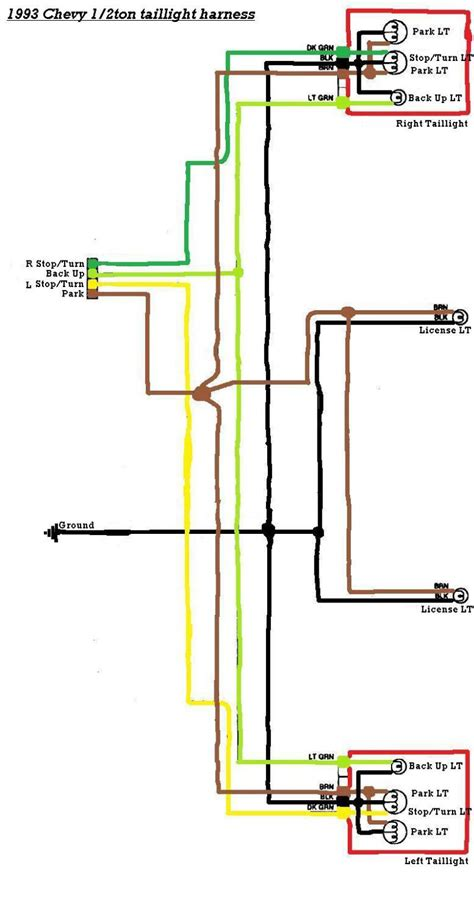 Trailer Lights Wiring Diagram Chevy Silverado
