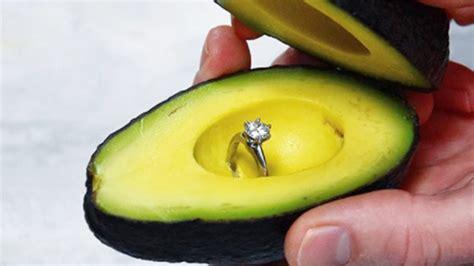 uk asda creates perfect  proposal avocado sticker