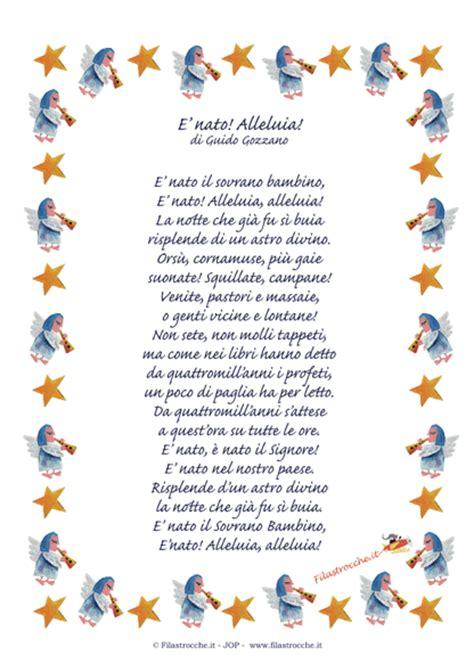 Cornici Per Poesie by Idea Regalo Per Natale Poesia In Cornice Quot E Nato