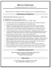 resume sles for graduate admissions social service resume