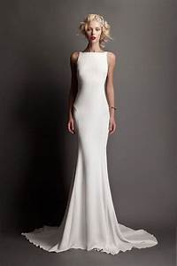 Bateau neckline wedding dresses for the chic bride mywedding for Bateau neckline wedding dress