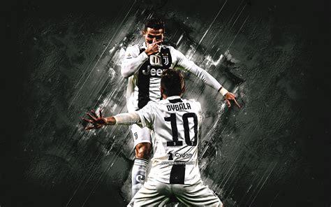 Download wallpapers Cristiano Ronaldo, Paulo Dybala ...