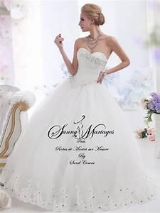 robe de mariee princesse bustier strass sur mesure With robe de mariée bustier strass