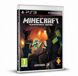 Minecraft PS3 Edition Coming To Stores On Blu Ray Next