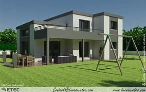 maison toit terrasse gevrey maison pinterest maison With amenagement terrasse toit plat