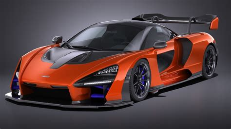 2019 Mclaren Models by Mclaren Senna 2019 3d Model Turbosquid 1248444