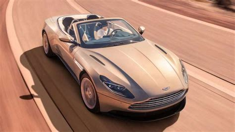 Aston Martin Db11 Volante Has V8 Only