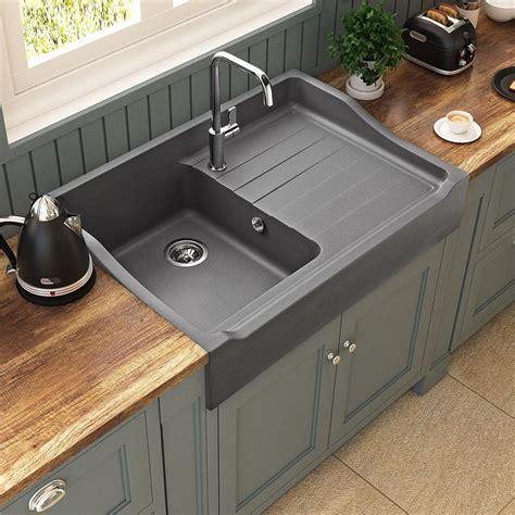mini cuisine en bois évier timbre d office 1 bac 1 égouttoir à poser kümbad