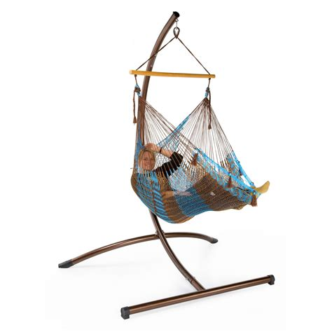 handmade mayan hammock chair and c frame stand at hayneedle