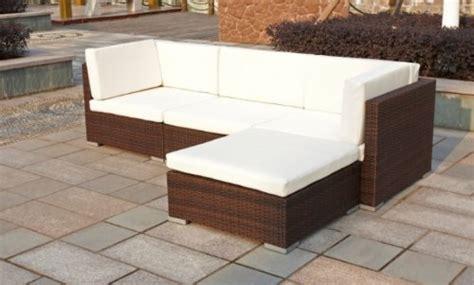 exclusive gartenmöbel lounges polyrattan lounge set copa braun eckcouch terrasse