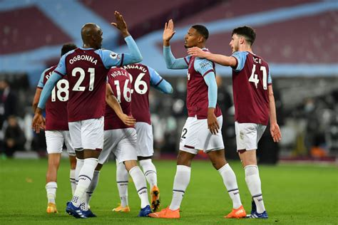 3-4-3 West Ham United Predicted Lineup Vs Fulham - The 4th ...