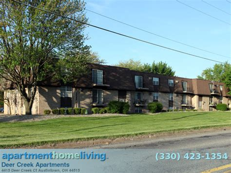 Apartments For Rent Youngstown Ohio by Deer Creek Apartments Austintown Apartments For Rent