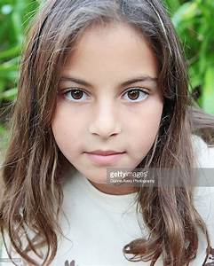 Portrait Of A Brown Eyed Girl Stock Photo | Getty Images