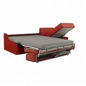 Canapé Lit Angle : canap lit angle r versible accoudoirs extra plats cuir italie ~ Teatrodelosmanantiales.com Idées de Décoration
